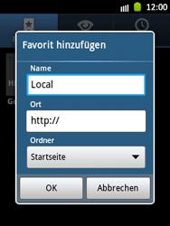 Samsung Galaxy Pocket - Internet und Datenroaming - Verwenden des Internets - Schritt 9