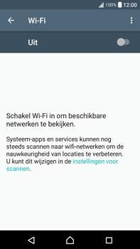 Sony Xperia XA Ultra (F3211) - wifi - handmatig instellen - stap 5