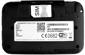 Huawei E5770 - Modem - Inserting the SIM and SD card - Step 5
