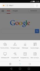 Huawei Ascend P8 - Internet et roaming de données - Navigation sur Internet - Étape 8