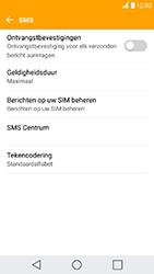 LG K10 (2017) - sms - handmatig instellen - stap 9