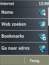 Nokia X3-02 - internet - hoe te internetten - stap 3