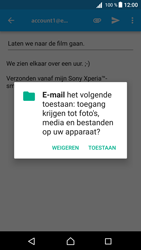 Sony Xperia Z5 (E6653) - Android Nougat - E-mail - Bericht met attachment versturen - Stap 11
