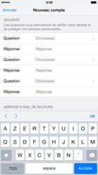 Apple iPhone 6 Plus - Applications - Créer un compte - Étape 14