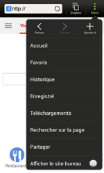 HTC C525u One SV - Internet - navigation sur Internet - Étape 9