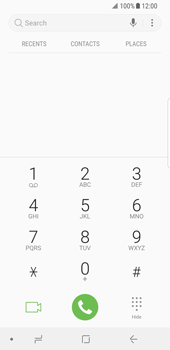 Samsung Galaxy S8 - Android Oreo - Voicemail - Manual configuration - Step 4