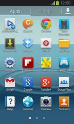 Samsung Galaxy Express - Software - Installing software updates - Step 4