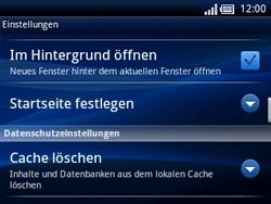 Sony Ericsson Xperia X10 Mini Pro - Internet - Manuelle Konfiguration - Schritt 20