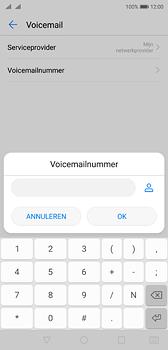 Huawei P20 - Voicemail - handmatig instellen - Stap 9