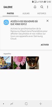 Samsung Galaxy J6 - Photos, vidéos, musique - Envoyer une photo via Bluetooth - Étape 4