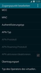 Samsung Galaxy S 5 - Internet und Datenroaming - Manuelle Konfiguration - Schritt 14
