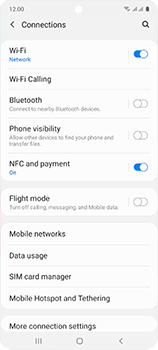 Samsung Galaxy A51 - WiFi - Enable WiFi Calling - Step 6