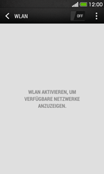HTC Desire 500 - WLAN - Manuelle Konfiguration - Schritt 5