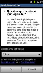 Samsung Galaxy S Advance - Logiciels - Installation de mises à jour - Étape 8