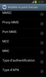 Samsung Galaxy Express - MMS - Configuration manuelle - Étape 12