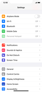 Apple iPhone 11 Pro - iOS 14 - Internet and data roaming - How to check if data-connectivity is enabled - Step 3