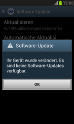 Samsung Galaxy S III Mini - Software - Installieren von Software-Updates - Schritt 11