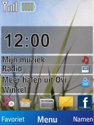 Nokia X2-00 - SMS - Handmatig instellen - Stap 1