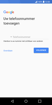 LG Q6 - apps - account instellen - stap 13