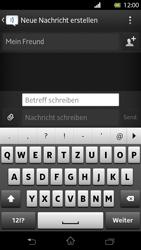 Sony Xperia T - MMS - Erstellen und senden - Schritt 11