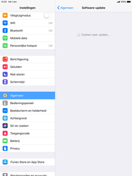 Apple ipad-air-ios-12 - Software updaten - Update installeren - Stap 5