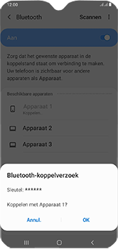 Samsung Galaxy A10 - Bluetooth - koppelen met ander apparaat - Stap 10