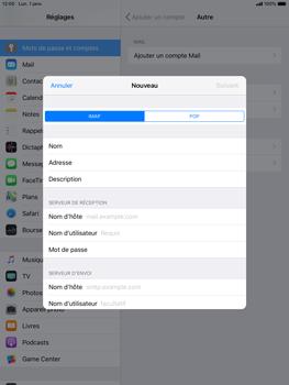 Apple iPad Mini 3 - iOS 12 - E-mail - Configuration manuelle - Étape 12