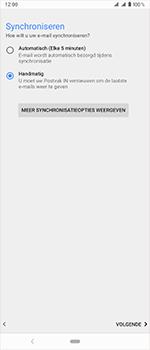 Sony Xperia 1 - E-mail - handmatig instellen - Stap 20