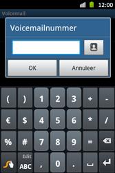 Samsung S6500D Galaxy Mini 2 - Voicemail - Handmatig instellen - Stap 7
