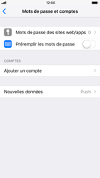 Apple iPhone 7 - iOS 12 - E-mail - configuration manuelle - Étape 4