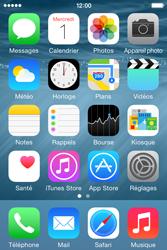 Apple iPhone 4s iOS 8 - MMS - Envoi d