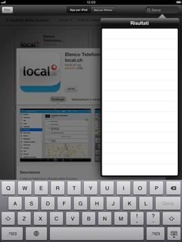 Apple iPad mini - Applicazioni - Installazione delle applicazioni - Fase 10