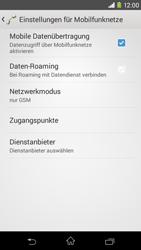 Sony Xperia M2 - Netzwerk - Netzwerkeinstellungen ändern - 8 / 8