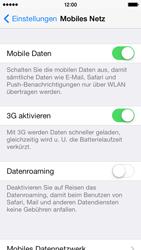 Apple iPhone 5c - Netzwerk - Netzwerkeinstellungen ändern - Schritt 4