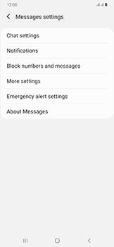 Samsung Galaxy A50 - SMS - Manual configuration - Step 7