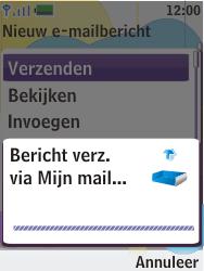 Nokia 7310 supernova - E-mail - E-mails verzenden - Stap 16