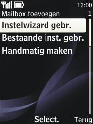 Nokia 3720 classic - e-mail - handmatig instellen - stap 8