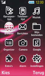 Samsung S7350 Ultra Slide - Internet - Hoe te internetten - Stap 2