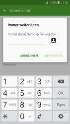 Samsung G925F Galaxy S6 Edge - Anrufe - Rufumleitungen setzen und löschen - Schritt 10