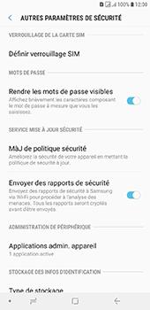 Samsung Galaxy J6 Plus - Sécuriser votre mobile - Personnaliser le code PIN de votre carte SIM - Étape 6