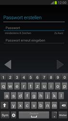 Samsung Galaxy Note 2 - Apps - Konto anlegen und einrichten - 7 / 15