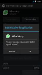 Wiko jimmy - Applications - Comment désinstaller une application - Étape 7