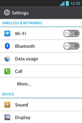 LG E610 Optimus L5 - Bluetooth - Pair with another device - Step 4