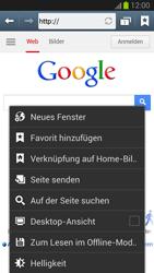 Samsung Galaxy S III - Internet und Datenroaming - Verwenden des Internets - Schritt 6