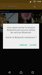 Sony Xperia Z5 Compact - Photos, vidéos, musique - Envoyer une photo via Bluetooth - Étape 10