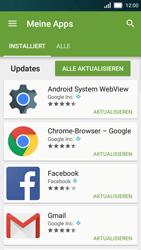 Huawei Y5 - Apps - Nach App-Updates suchen - Schritt 5