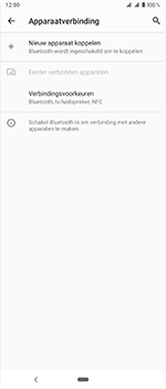 Sony Xperia 1 - Bluetooth - headset, carkit verbinding - Stap 5