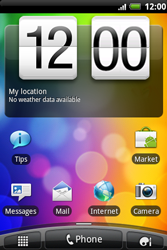 HTC A510e Wildfire S - SMS - Manual configuration - Step 2