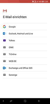 Samsung Galaxy A8 Plus (2018) - E-Mail - Konto einrichten (gmail) - Schritt 8