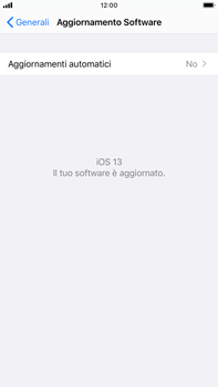 Apple iPhone 8 Plus - iOS 13 - Software - Installazione degli aggiornamenti software - Fase 6